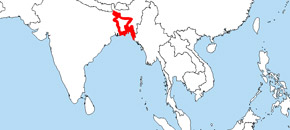 map of bangla_desh
